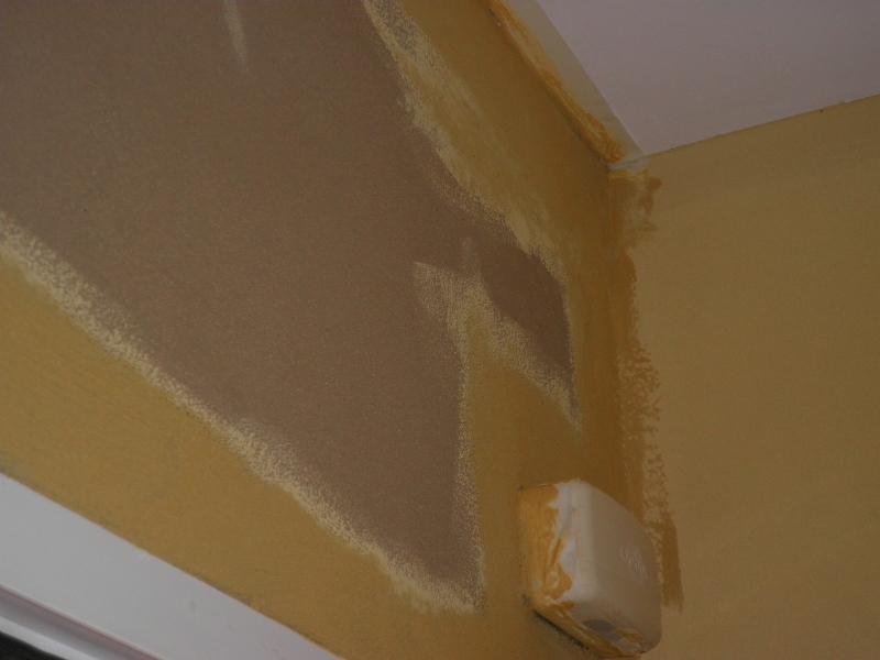 Aplicación pintura arcilla sobre barro superfino 1
